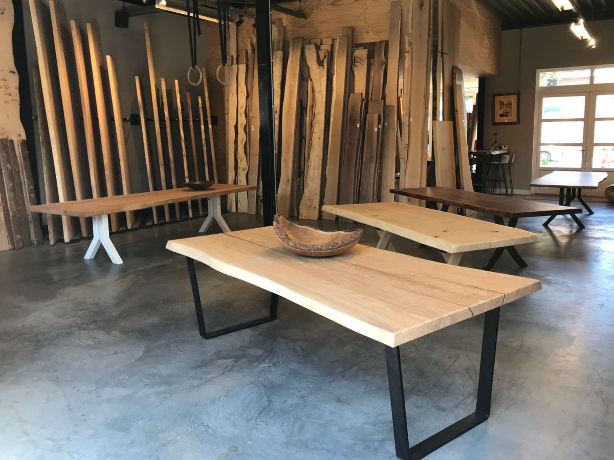 Boom Blad Tafel.Woodend Boom Stam Plank Tafel Boomstamtafels En